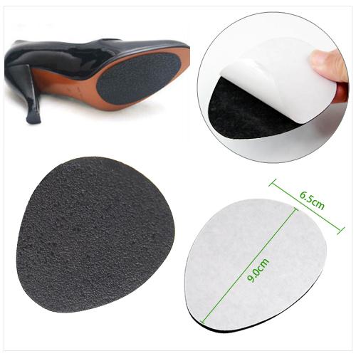 self adhesive anti slip stick on shoe grip pads non slip